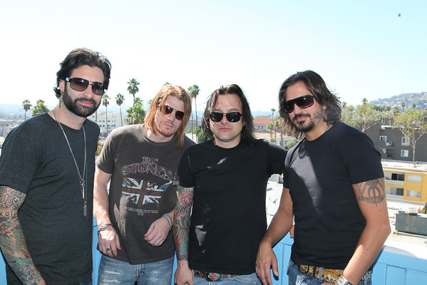 The Disparrows Daniel Weber, Stephen Tecci, Mike, Grant Loosvelt - Hangin in Hollywood